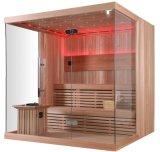 Preço de fábrica Material de madeira Harvia Heater Sauna Room (M-6041)