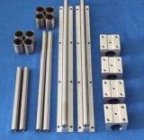 Carril de guía linear del rodillo de la aleación de aluminio (TBR25)