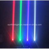 Luz principal movente da barra do feixe do diodo emissor de luz de 4 cabeças