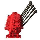6 Hebel-hydraulisches mehrfaches Richtungssteuerspulen-Ventil-Griff-Kran-Exkavator-Fluss-Teilen