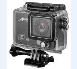 [سبورتس] [1080ب] [ويفي] عمل آلة تصوير [رموت كنترول] 120 درجة رياضة عمل آلة تصوير