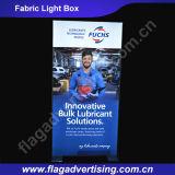 Casella chiara 2016 LED del tessuto di alluminio di Hotsale per visualizzazione