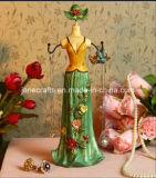 Polyresin Jewellery Display Holder Decoração para casa