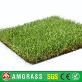 Erba artificiale di paesaggio e tappeto erboso sintetico con il prezzo poco costoso