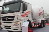 Camion de mélangeur de Shacman 380HP 10cbm