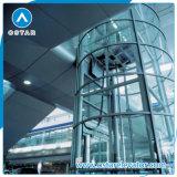 Роскошное цена лифта круглой формы, подъем замечания с приводом Vvvf