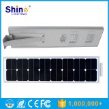 中国製容易60Wによって統合される太陽街灯を、安い価格の1つの太陽LEDライトの60Wすべてインストールしなさい