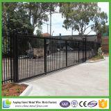 Cerca de acero al por mayor comercial, precios de acero galvanizados de la cerca, los paneles de acero decorativos de la cerca