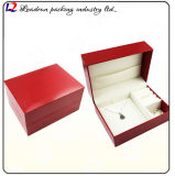 호화스러운 가죽 시계 패킹 전시 저장 상자 (Sy01)