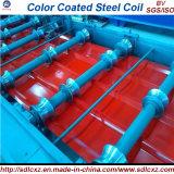 0.14-0.8mmのカラーによって塗られる電流を通された波形の鋼板