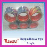 Супер лента упаковки ясности BOPP акриловая слипчивая