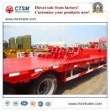 De Semi Aanhangwagen van het Bed Lowboy/Lowbed/Low van de fabrikant 80ton