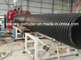 Tubulação da espiral do esgoto do HDPE que faz a máquina 200-2400mm