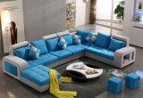 Sofa coloré de tissu de forme d'U, sofa moderne (S888)