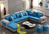 Buntes u-Form-Gewebe-Sofa, modernes Sofa (S888)