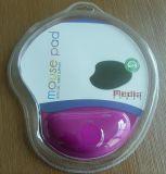 Silicone Gel Mouse Pad com descanso de pulso para brindes promocionais