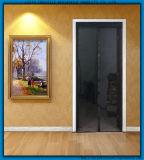 자석 철회 가능한 모기장 문 또는 비행거리 메시 문 또는 곤충 스크린 메시 문
