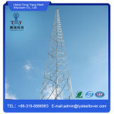 직류 전기를 통한 강철 4 다리가 있는 각 강철 통신 탑