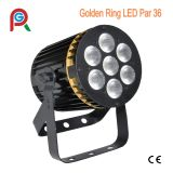 Diodo emissor de luz Indoor PAR Can de RGBW 4in1 7X8w