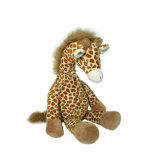 Nettes Kind-füllten weiche Spielzeug-Tiere Giraffe-Plüsch-Spielzeug für Verkauf an