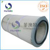 De pruim-gevormde GLB Geplooide Collector van het Stof van de Patroon van de Filter