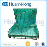 Stapeln des faltbaren Haustier-Vorformling-Speicher-Metallineinander greifen-Rahmens