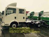 Carro doble del cargo de Sinotruk HOWO 4X2 3t de la cabina, carro del camión, Van Truck