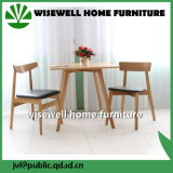 Tavolino da salotto moderno della Tabella rotonda del caffè di legno solido (W-T-858)