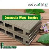 Compuesto plástico de madera WPC del suelo al aire libre de Eco