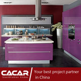 紫色雨ロマンチックで及び穏やかな様式のピアノStovingのニスの食器棚(CA09-16)