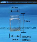 Бутылка держателя для свечи корабля домашнего украшения стеклянная