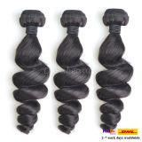 100%年のバージンの毛の拡張加工されていないブラジルの毛の人間の毛髪