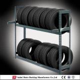 Racking ajustável do armazenamento do pneumático