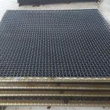 Acoplamiento prensado acero de la pantalla de alambre de 65 manganesos