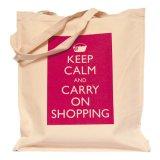 食料雑貨および市場で使用される綿のショッピング・バッグ