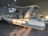 Vente gonflable de bateau de la meilleure de côte de Liya 52m engine extérieure de bateau