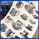 Tovagliolo di tè di tela 100% naturale (QHD99812)