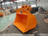 Peças da máquina escavadora que inclinam a cubeta de lama, cubeta limpa da máquina escavadora