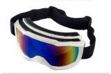 Anti-Rayer les lunettes de motocross de matériel de ski de PC d'enduit de Revo
