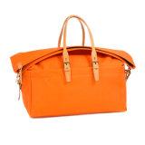 工場価格の良質の週末のオレンジキャンバス旅行袋