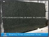 Polished гранит зеленого цвета павлина Бразилии для Countertop/вымощать/плиток/Worktops