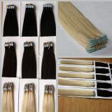 Extensão do cabelo humano da fita de Remy da qualidade de Highter