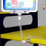 Clip magnético plástico del portatarjetas de la nota del clip de papel