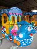 Поезд напольных детей спортивной площадки электрический Trackless для парка Amsuement