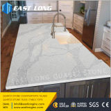Partie supérieure du comptoir en pierre artificielles de quartz pour le Module de cuisine avec la surface Polished