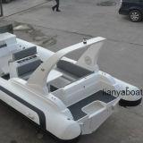 Liya 7.5m Zentrale-Konsolen-Rippen-Boots-steifer Rumpf-aufblasbares Boot