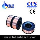Fio de soldadura revestido de cobre do CO2