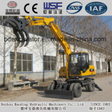 ISO9001証明書が付いている8つの車輪駆動機構のサトウキビのローダーまたはサトウキビのローディング機械