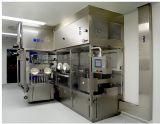 Chaîne de production de Laver-Séchage-Remplir-Boucher-Écriture de labels liquide de fiole