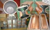 De Buizen van de Vorm van het koper voor de Gietmachine van de Plak, de Gietmachine van de Bloei en de Gietmachine van de Staaf